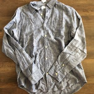 Men's Chambray Shirt in Standard Fit